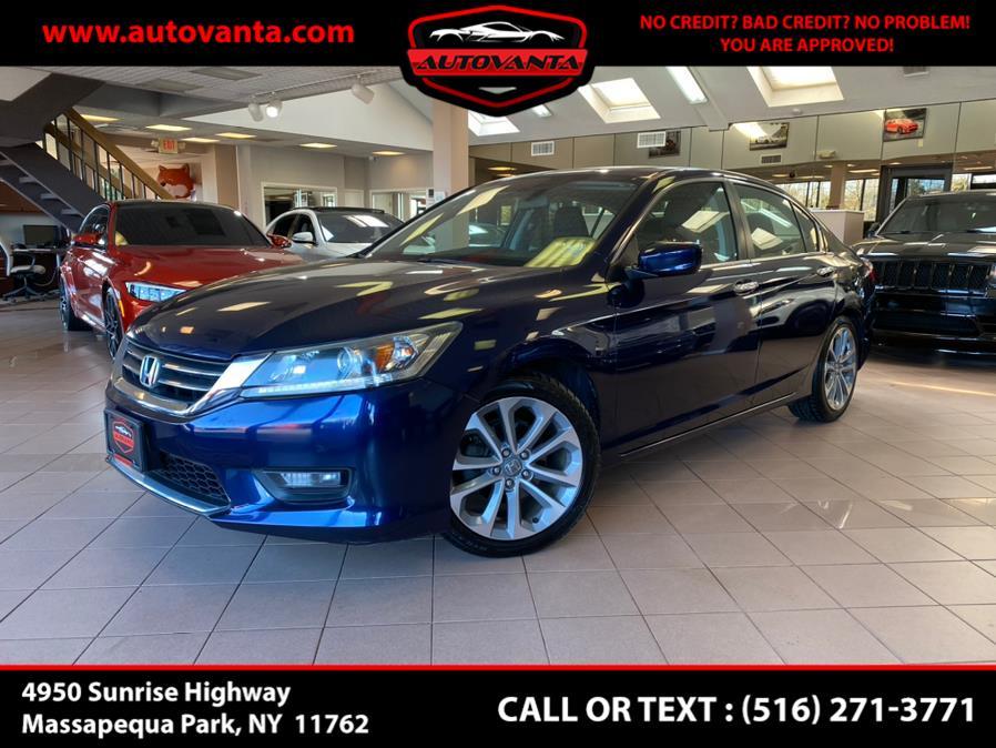 Used 2014 Honda Accord Sedan in Massapequa Park, New York | Autovanta. Massapequa Park, New York