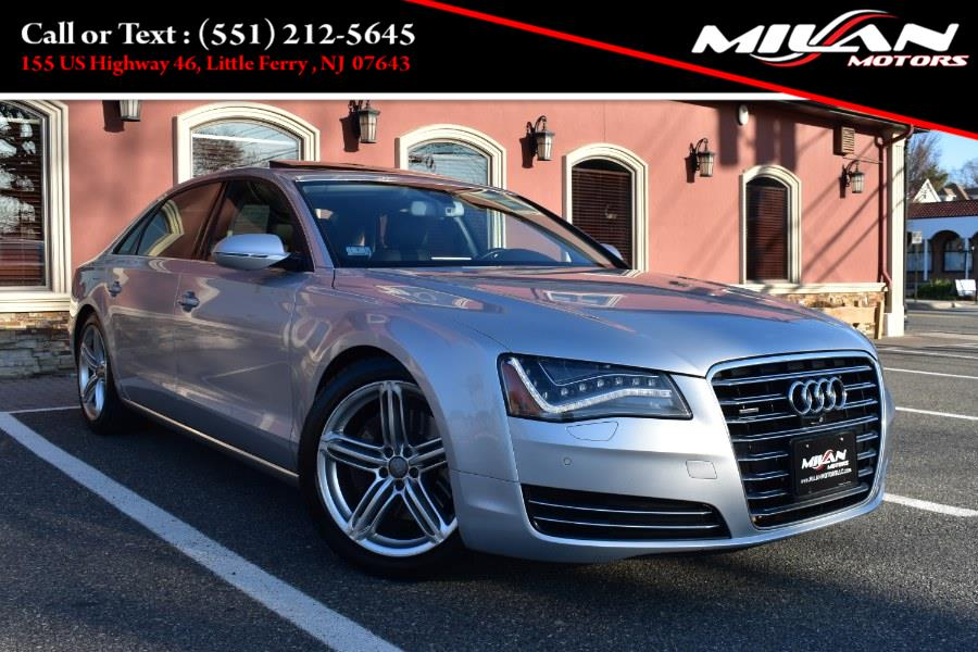 Used Audi A8 L 4dr Sdn 3.0L 2013 | Milan Motors. Little Ferry , New Jersey