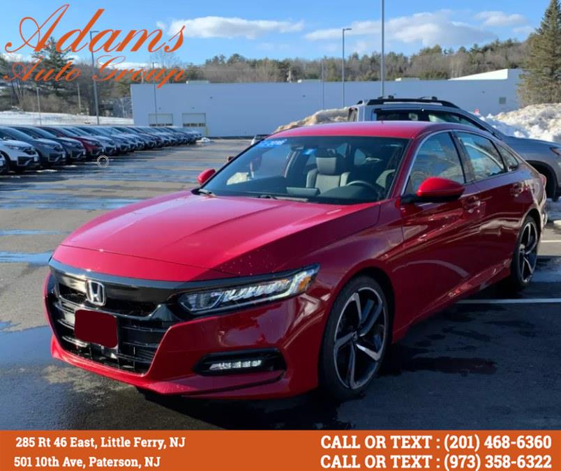 Used Honda Accord Sedan Sport CVT 2018 | Adams Auto Group . Little Ferry , New Jersey