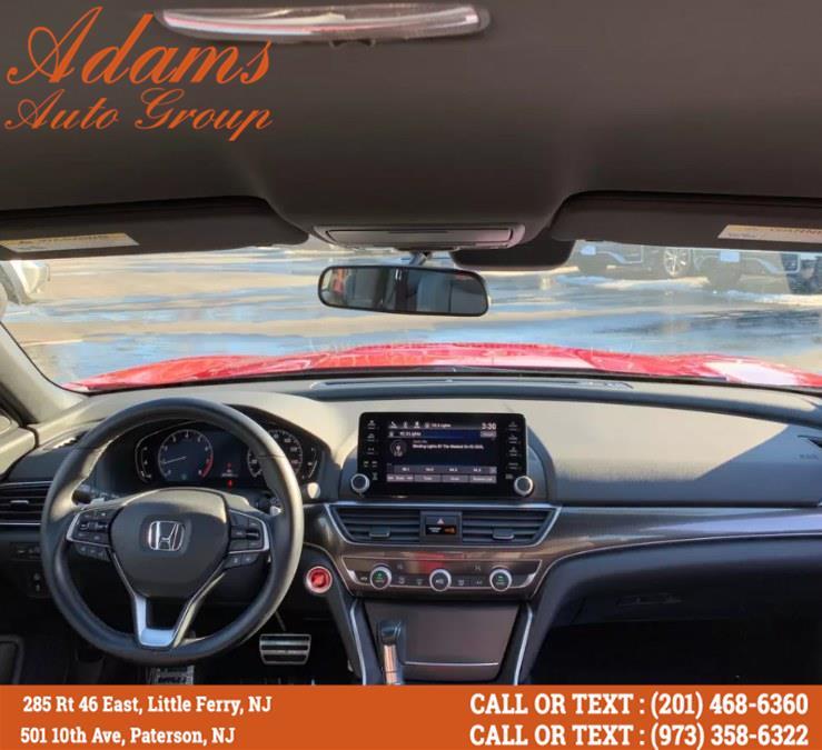 Used Honda Accord Sedan Sport CVT 2018   Adams Auto Group . Little Ferry , New Jersey