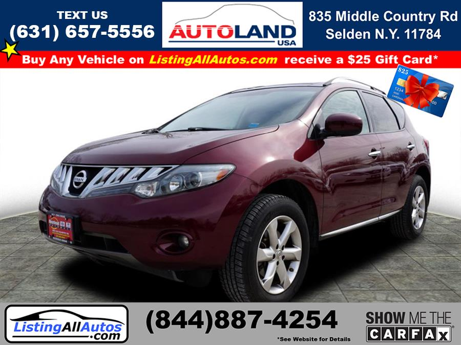 Used 2010 Nissan Murano in Patchogue, New York | www.ListingAllAutos.com. Patchogue, New York