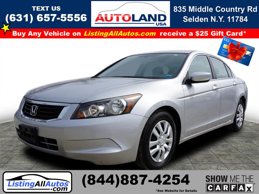Used 2010 Honda Accord in Patchogue, New York | www.ListingAllAutos.com. Patchogue, New York