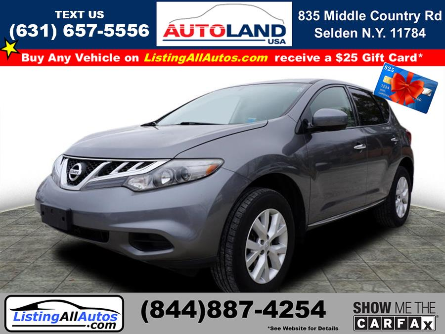 Used 2014 Nissan Murano in Patchogue, New York | www.ListingAllAutos.com. Patchogue, New York