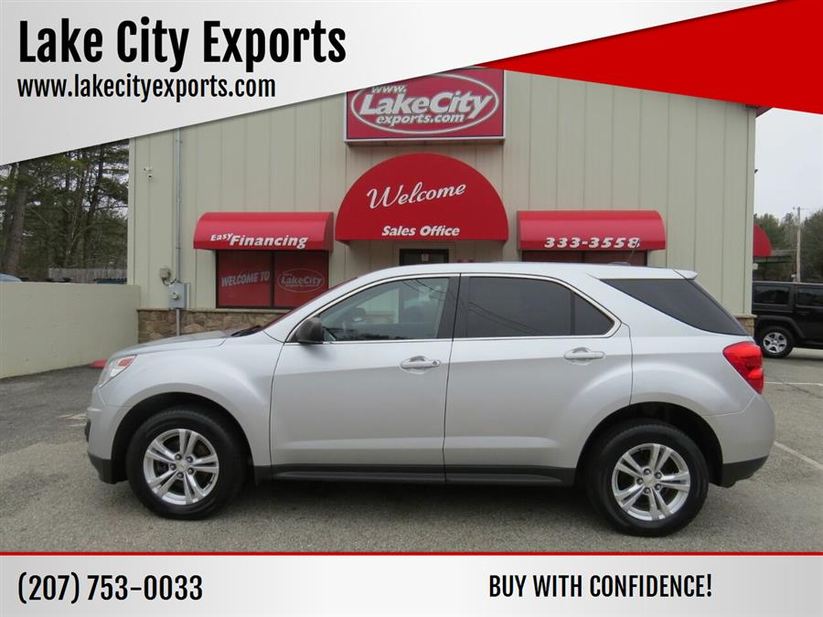 Used Chevrolet Equinox LS AWD 4dr SUV 2015   Lake City Exports Inc. Auburn, Maine