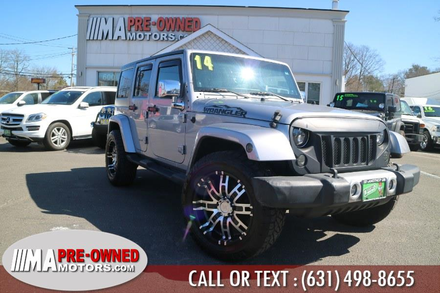 Used Jeep Wrangler Unlimited sahara 4WD 4dr Sahara 2014 | M & A Motors. Huntington, New York
