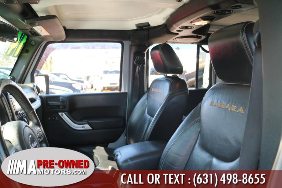 Used Jeep Wrangler Unlimited sahara 4WD 4dr Sahara 2014 | M & A Motors. Huntington, New York