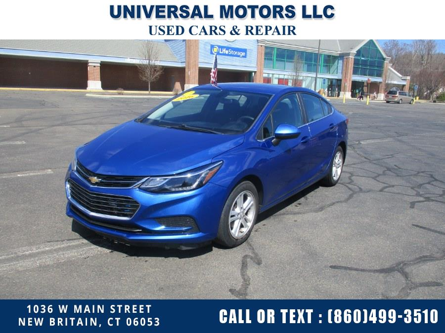 Used Chevrolet Cruze 4dr Sdn Auto LT 2016 | Universal Motors LLC. New Britain, Connecticut