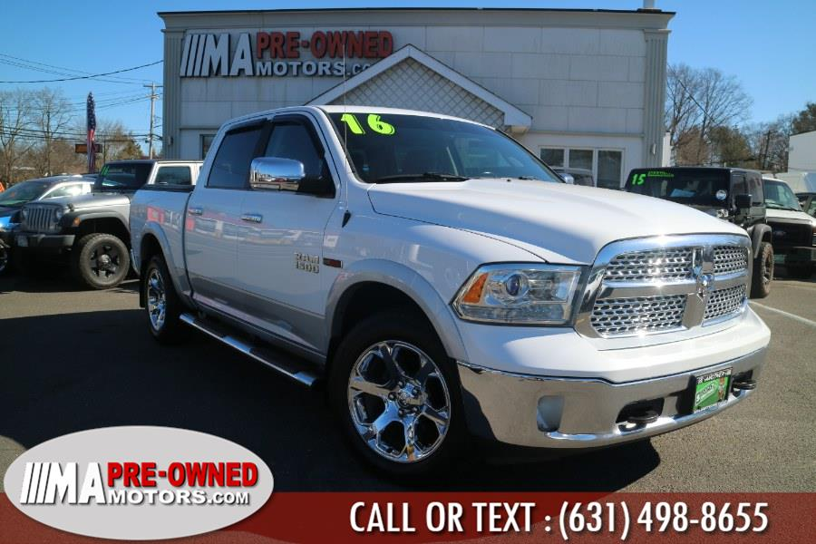 "Used Ram 1500 eco deisel 4WD Crew Cab 140.5"" Laramie eco deisel 2016 