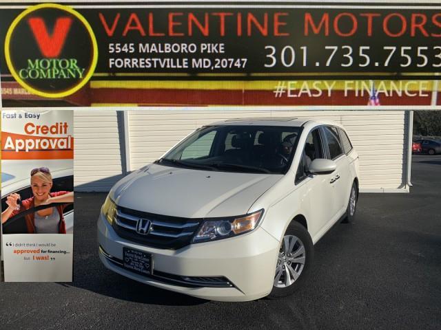 Used Honda Odyssey EX-L 2014 | Valentine Motor Company. Forestville, Maryland