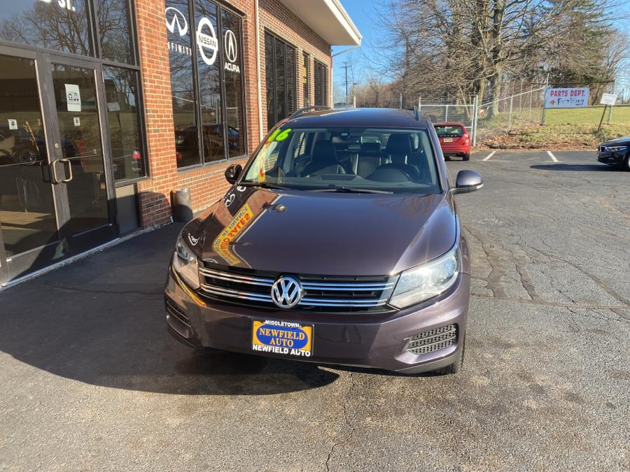 Used Volkswagen Tiguan 4MOTION 4dr Auto S 2016 | Newfield Auto Sales. Middletown, Connecticut