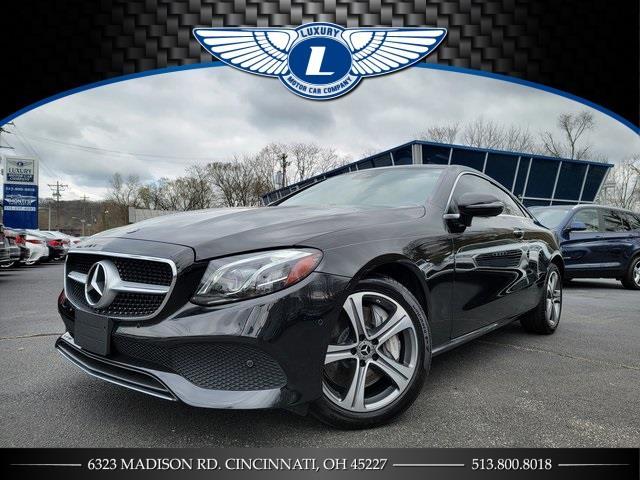 Used 2018 Mercedes-benz E-class in Cincinnati, Ohio | Luxury Motor Car Company. Cincinnati, Ohio