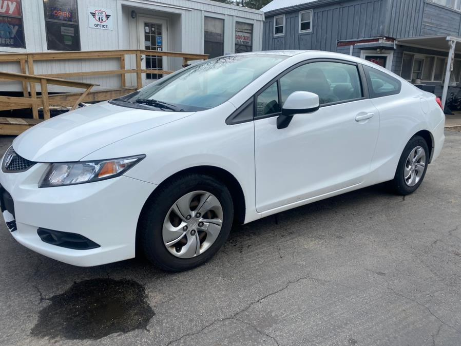 Used 2013 Honda Civic Cpe in Hampton, Connecticut | VIP on 6 LLC. Hampton, Connecticut