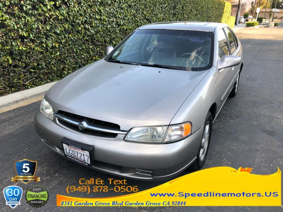 Used 1999 Nissan Altima in Garden Grove, California | Speedline Motors. Garden Grove, California