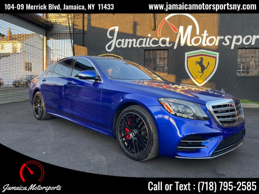 Used 2018 Mercedes-Benz S-Class in Jamaica, New York | Jamaica Motor Sports . Jamaica, New York