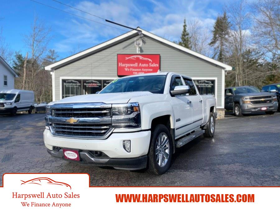 """Used Chevrolet Silverado 1500 4WD Crew Cab 143.5"""" High Country 2017   Harpswell Auto Sales Inc. Harpswell, Maine"""