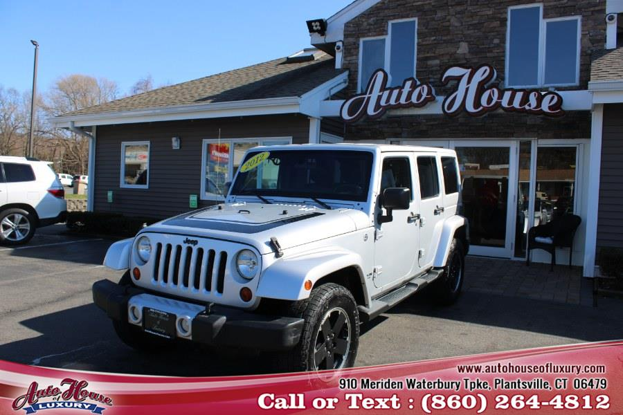 Used 2012 Jeep Wrangler Unlimited in Plantsville, Connecticut | Auto House of Luxury. Plantsville, Connecticut