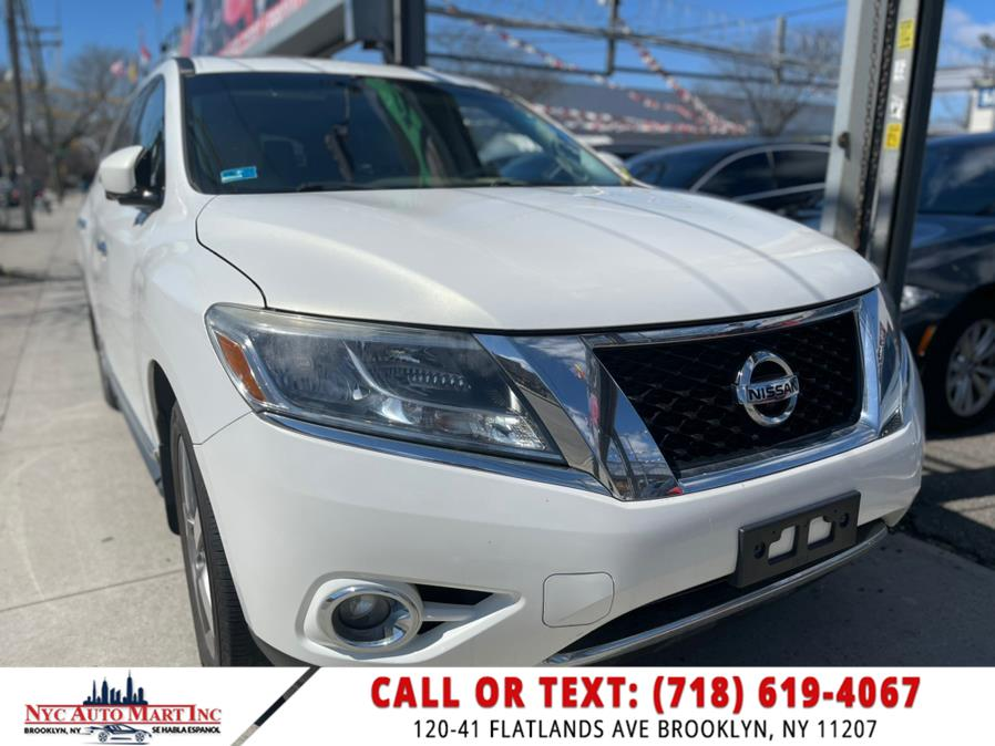 Used 2014 Nissan Pathfinder in Brooklyn, New York | NYC Automart Inc. Brooklyn, New York