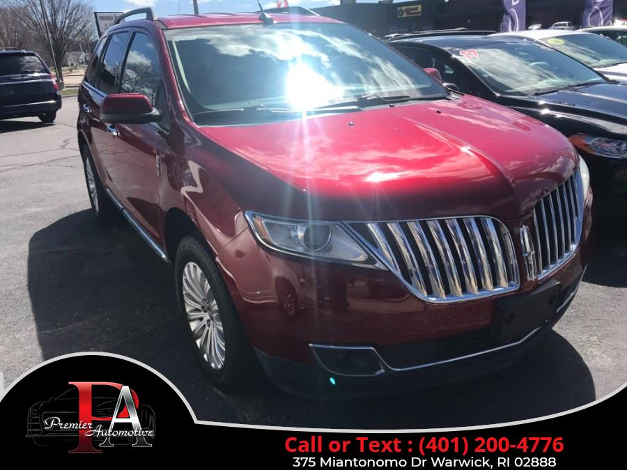 Used 2013 Lincoln MKX in Warwick, Rhode Island | Premier Automotive Sales. Warwick, Rhode Island