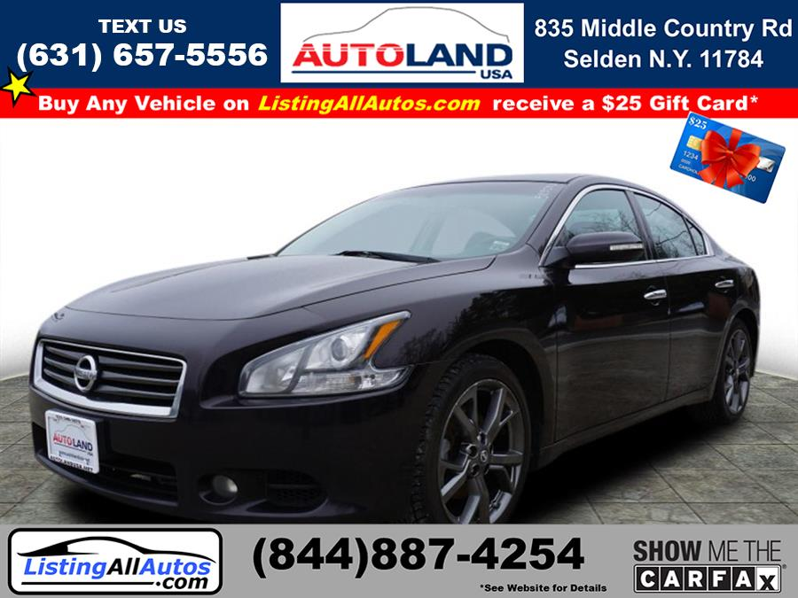 Used 2013 Nissan Maxima in Patchogue, New York | www.ListingAllAutos.com. Patchogue, New York