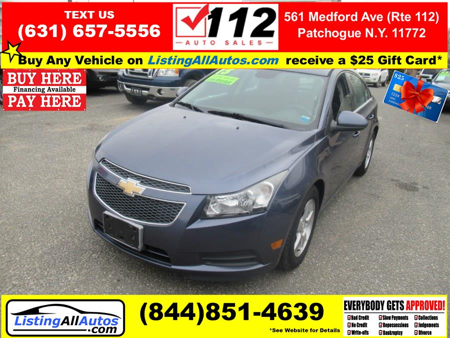 Used 2013 Chevrolet Cruze in Patchogue, New York | www.ListingAllAutos.com. Patchogue, New York