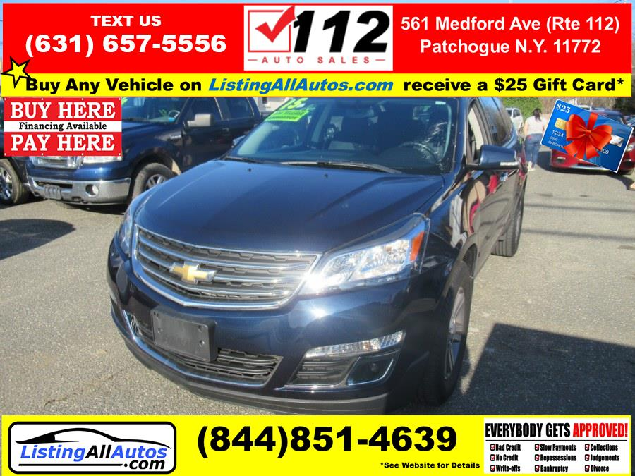 Used 2015 Chevrolet Traverse in Patchogue, New York | www.ListingAllAutos.com. Patchogue, New York