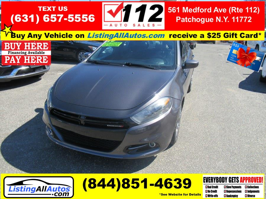 Used 2015 Dodge Dart in Patchogue, New York | www.ListingAllAutos.com. Patchogue, New York