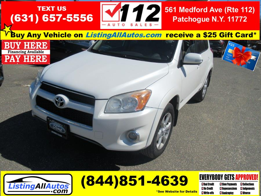 Used Toyota RAV4 4WD 4dr 4-cyl 4-Spd AT Ltd (Natl) 2011 | www.ListingAllAutos.com. Patchogue, New York