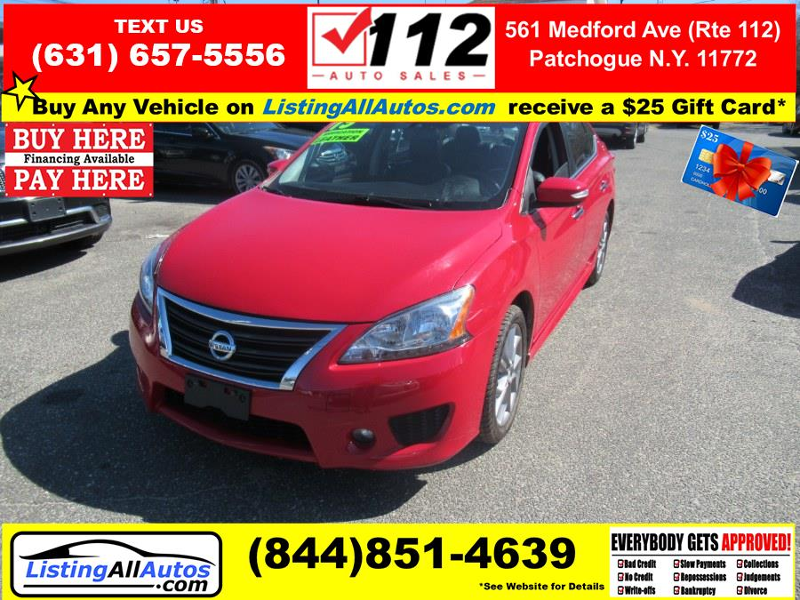 Used 2015 Nissan Sentra in Patchogue, New York | www.ListingAllAutos.com. Patchogue, New York