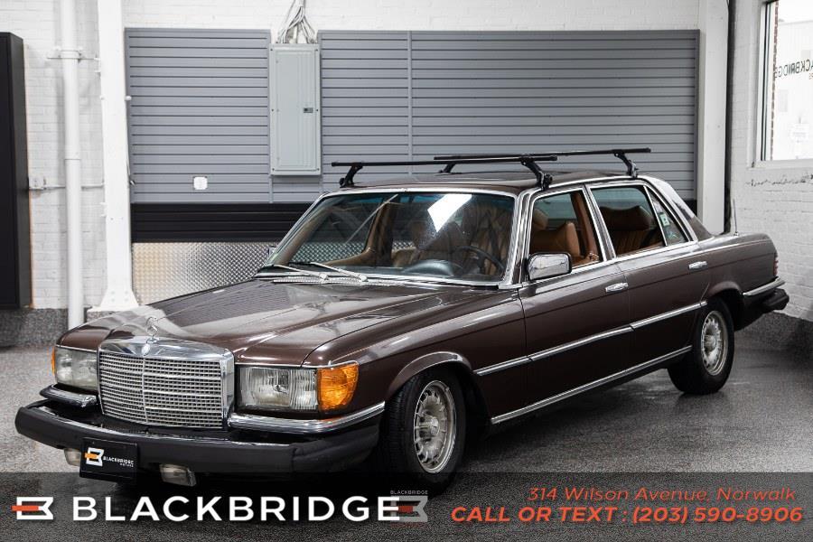 Used Mercedes-Benz 450SEL 6.9 1979 | Black Bridge Motors, LLC. Norwalk, Connecticut