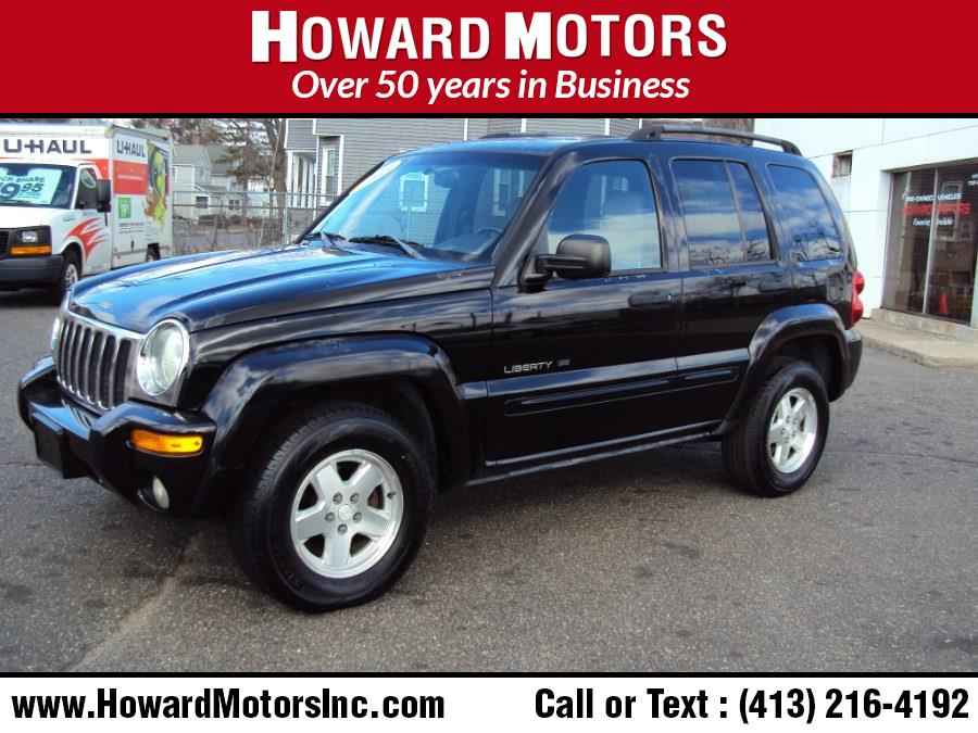 Used Jeep Liberty 4dr Limited 4WD 2003 | Howard Motors. Springfield, Massachusetts
