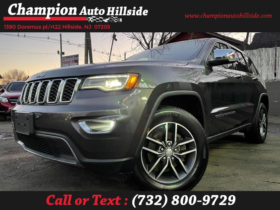 Used 2018 Jeep Grand Cherokee in Hillside, New Jersey | Champion Auto Sales. Hillside, New Jersey