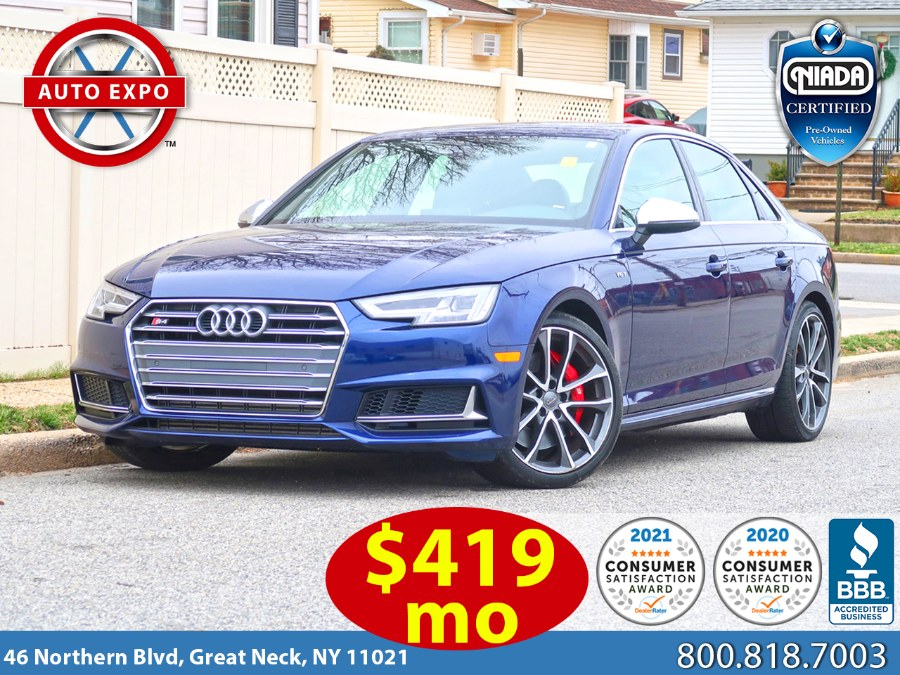 Used 2018 Audi S4 in Great Neck, New York | Auto Expo Ent Inc.. Great Neck, New York
