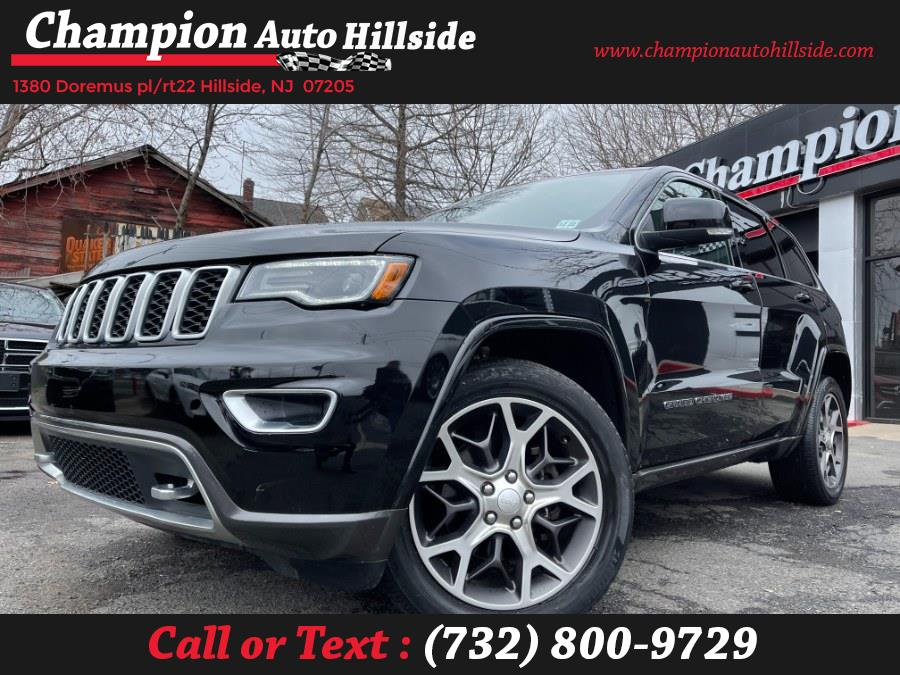 Used 2018 Jeep Grand Cherokee in Hillside, New Jersey | Champion Auto Hillside. Hillside, New Jersey