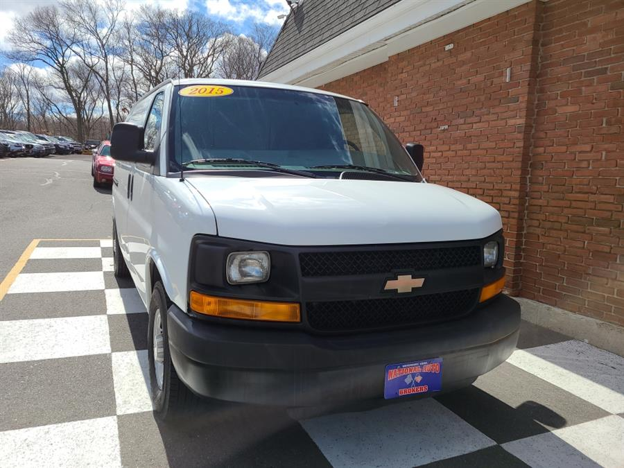 Used 2015 Chevrolet Express Cargo Van in Waterbury, Connecticut | National Auto Brokers, Inc.. Waterbury, Connecticut