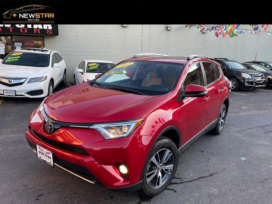 Used 2017 Toyota RAV4 in Chelsea, Massachusetts | New Star Motors. Chelsea, Massachusetts