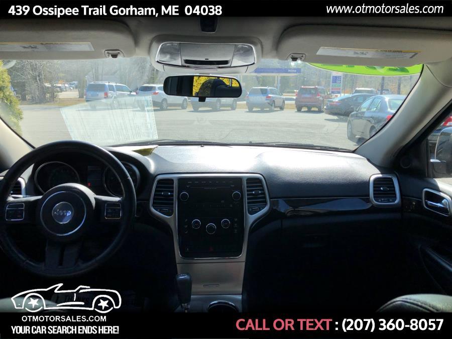 Used Jeep Grand Cherokee 4WD 4dr Laredo 2012   Ossipee Trail Motor Sales. Gorham, Maine