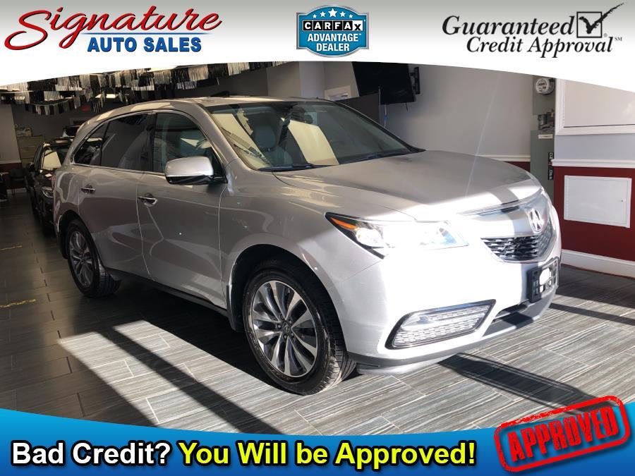Used 2015 Acura MDX in Franklin Square, New York | Signature Auto Sales. Franklin Square, New York