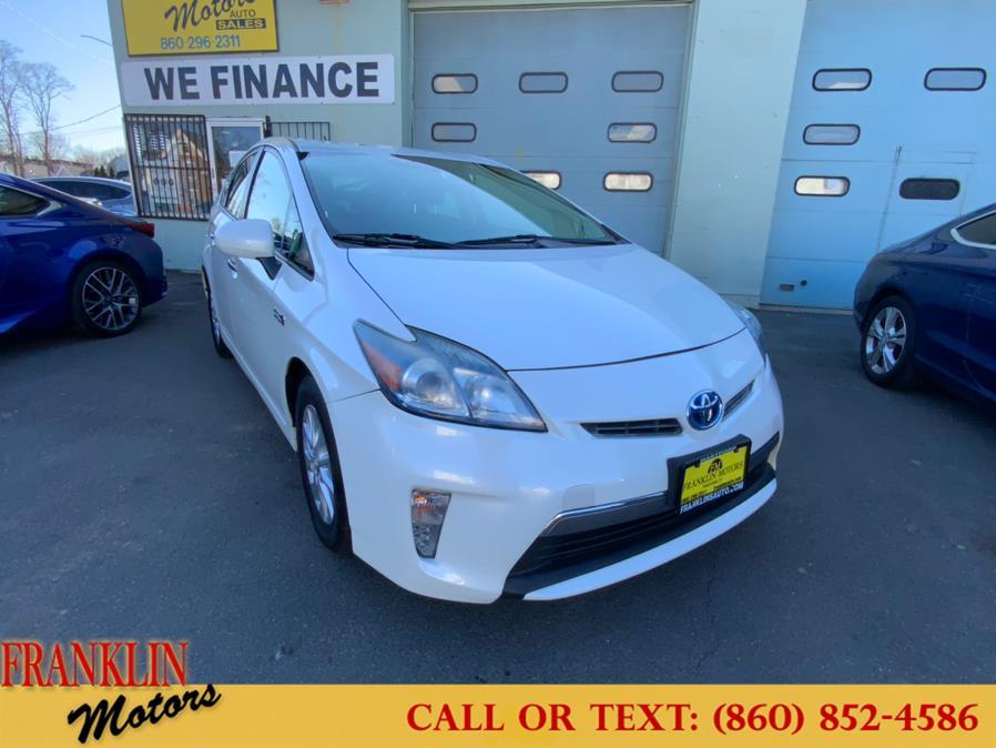 Used 2012 Toyota Prius Plug-In in Hartford, Connecticut | Franklin Motors Auto Sales LLC. Hartford, Connecticut