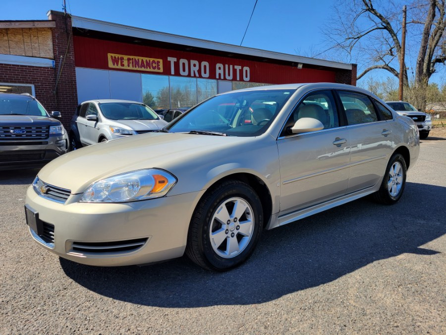 Used Chevrolet Impala 4dr Sdn 3.5L LT Leather 2009 | Toro Auto. East Windsor, Connecticut