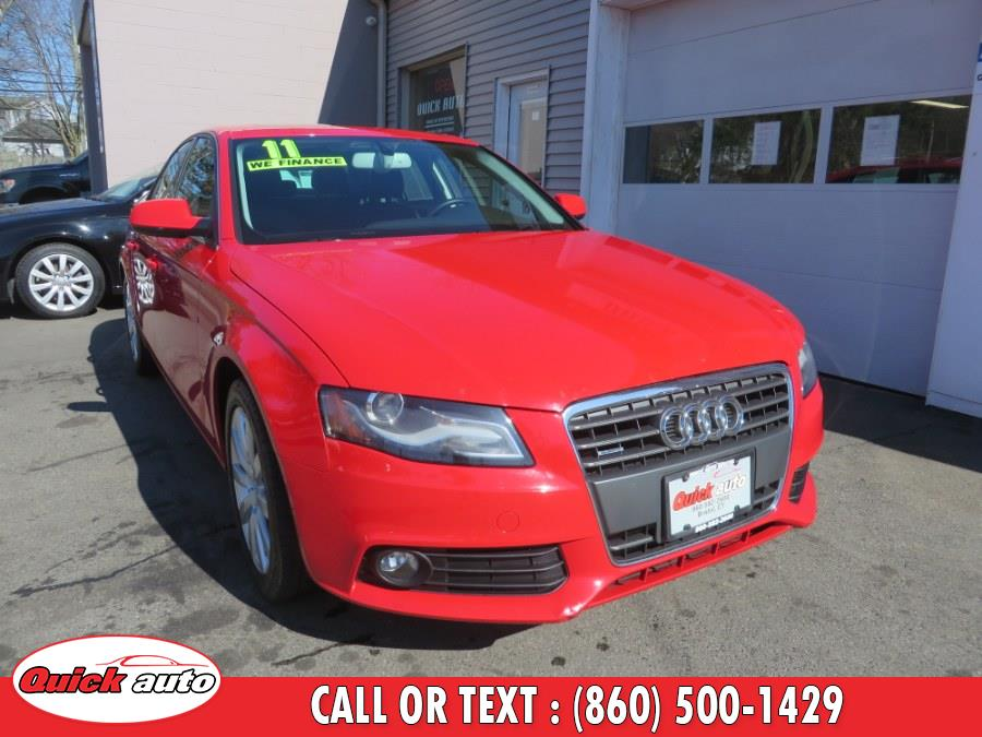 Used 2011 Audi A4 in Bristol, Connecticut | Quick Auto LLC. Bristol, Connecticut