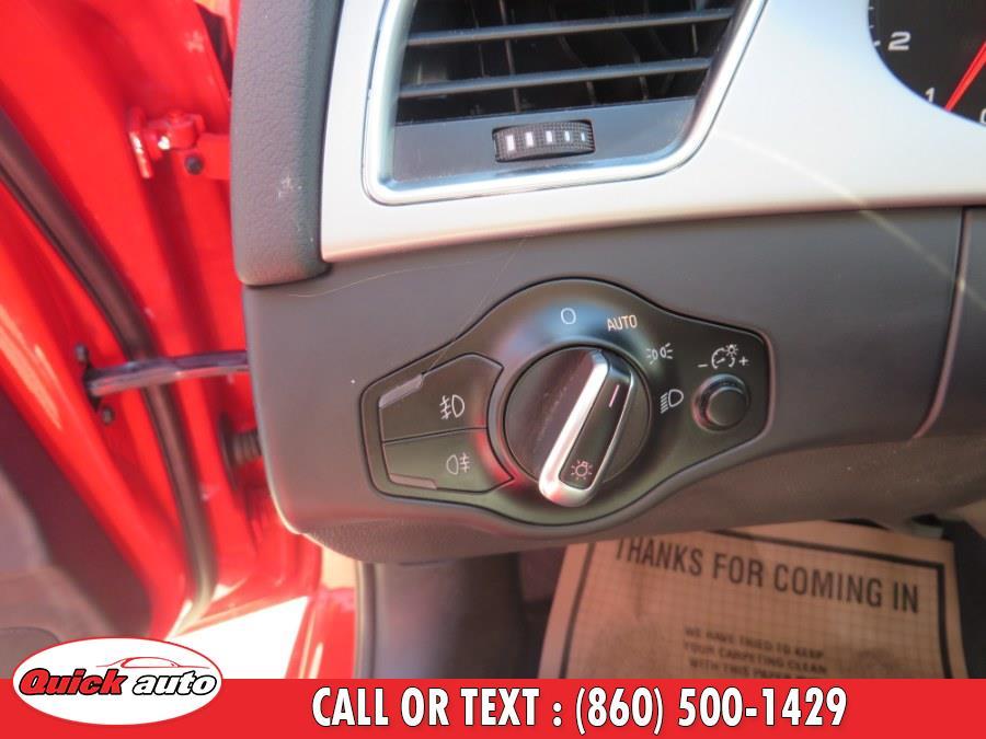 Used Audi A4 4dr Sdn Man quattro 2.0T Premium  Plus 2011 | Quick Auto LLC. Bristol, Connecticut