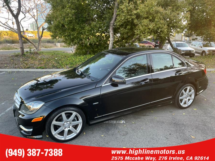 Used Mercedes-Benz C 250 AMG 4dr Sdn C 250 Sport RWD 2012 | High Line Motors LLC. Irvine, California