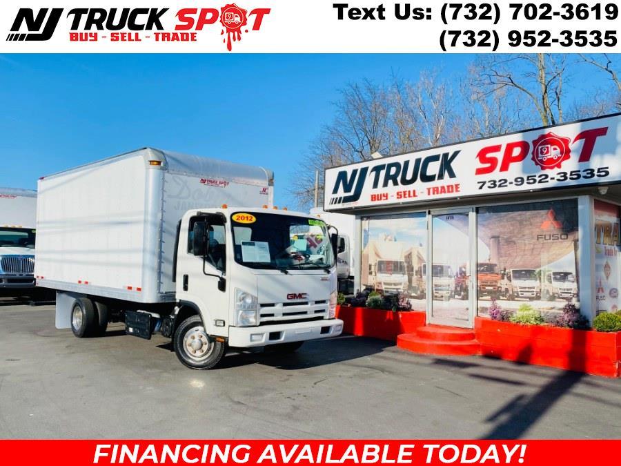 Used Isuzu NPR 16 FEET DRY BOX + STEP UP BUMPER + NO CDL 2012   NJ Truck Spot. South Amboy, New Jersey
