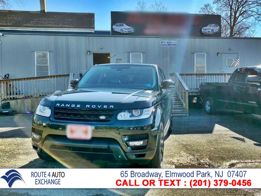 Used Land Rover Range Rover Sport 4WD 4dr Supercharged 2014 | Route 4 Auto Exchange. Elmwood Park, New Jersey