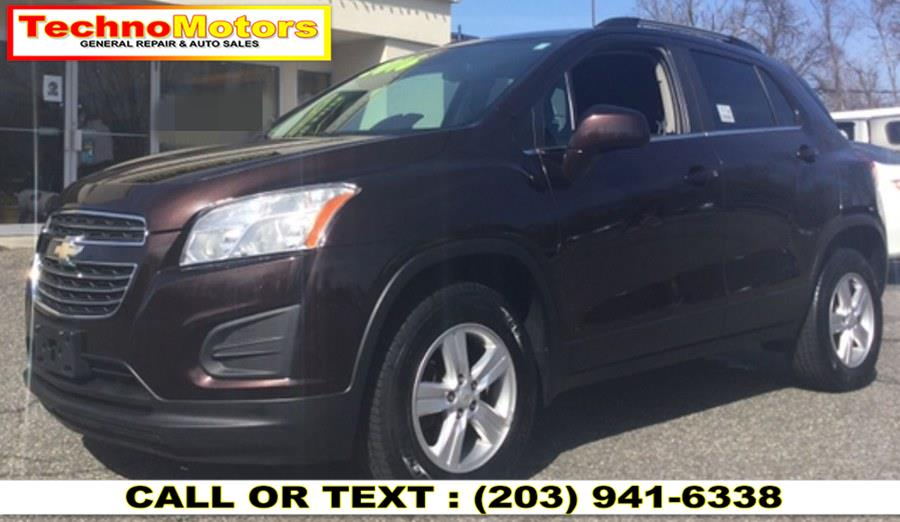 Used Chevrolet Trax AWD 4dr LT 2016 | Techno Motors . Danbury , Connecticut