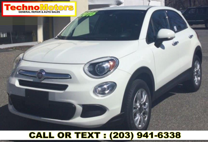 Used FIAT 500X AWD 4dr Easy 2016 | Techno Motors . Danbury , Connecticut