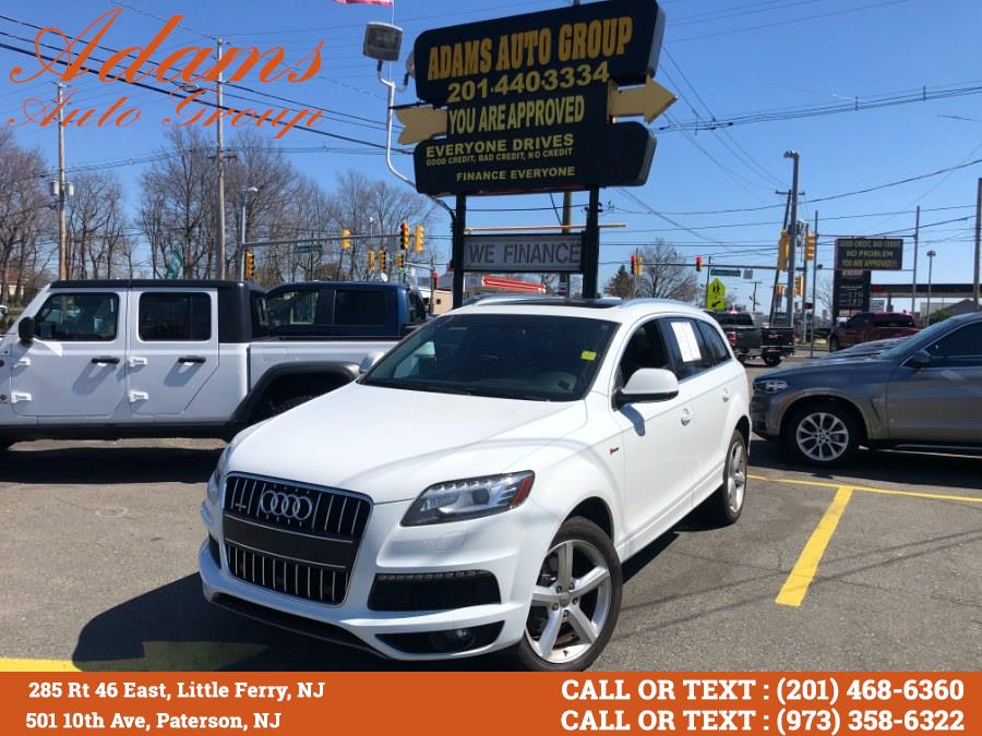 Used Audi Q7 quattro 4dr 3.0T S line Prestige 2015 | Adams Auto Group . Little Ferry , New Jersey