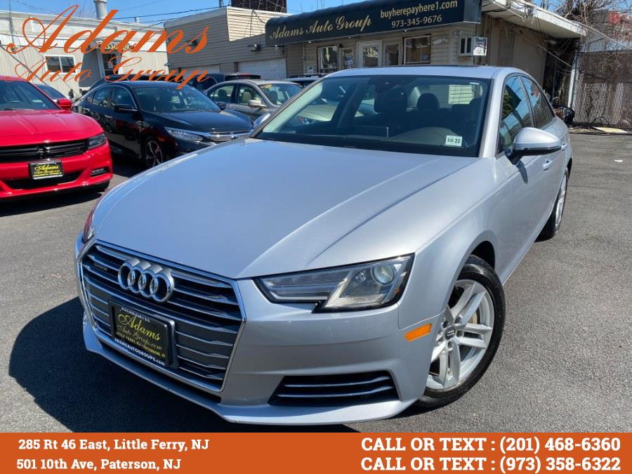 Used Audi A4 2.0 TFSI Auto Premium quattro AWD 2017 | Adams Auto Group . Little Ferry , New Jersey