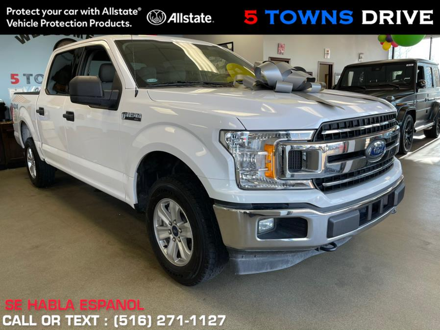 Used Ford F-150 XLT 4WD SuperCrew 5.5'' Box 2019 | 5 Towns Drive. Inwood, New York