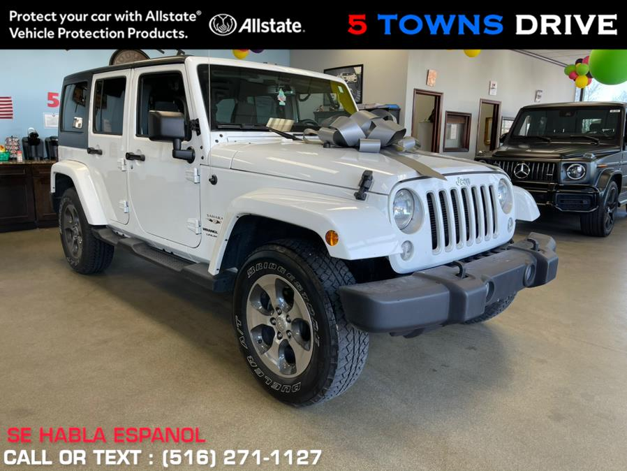 Used Jeep SAHARA Wrangler JK Unlimited Altitude 4x4 2018 | 5 Towns Drive. Inwood, New York